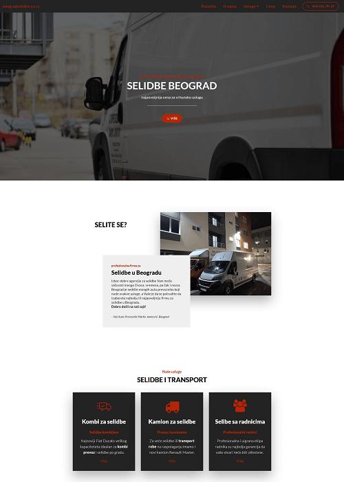 Beograd Selidbe sajt
